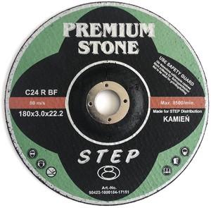 Круг отрезной по камню 180х3,0х22,2 мм STONE Premium