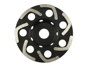 Чашка алмазная шлифовальная по бетону 125х22 мм БУМЕРАНГ