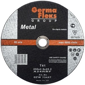 Круг по металлу для бензореза 400х4,0х32 мм «GermaFleks Group»