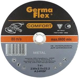 Круг (диск) отрезной по металлу 230 мм (230х2,5х22,2) METAL Comfort