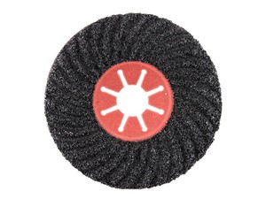 Круг фибровый волнистый 180х22 мм Р36 Semtul карбид кремния черный «PLEXPART»