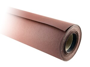 Бумага наждачная в рулоне 700 мм / 25 м Р240 на тканевой основе J Flex электрокорунд бордовый