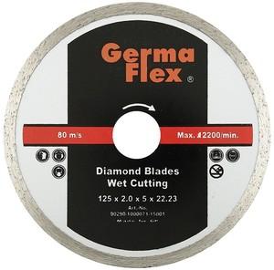 Диск отрезной алмазный полный 115х22,2 мм W