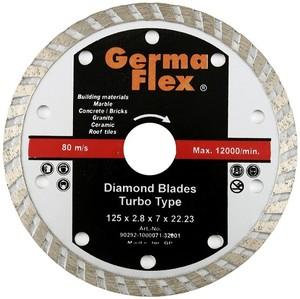 Диск отрезной алмазный турбо 125х22,2 мм Т