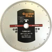 Диск алмазный турбо мелкий зуб 300х10х32 мм TMZ