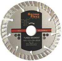 Диск отрезной алмазный турбо сегмент 125х10х22,2 мм TS резка сухая (Diamond Line)