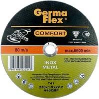Круг (диск) отрезной по нержавеющей стали 115 мм (115х1,2х22,2) INOX Comfort