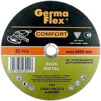 Круг (диск) отрезной по нержавеющей стали 115 мм (115х1,6х22,2) INOX Comfort