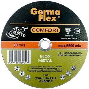 Круг (диск) отрезной по нержавеющей стали 180 мм (180х1,6х22,2) INOX Comfort