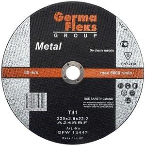 Круг (диск) отрезной по металлу 115 мм (115х2,5х22,2) «GermaFleks Group»