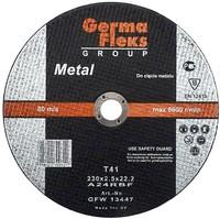 Круг (диск) отрезной по металлу 180 мм (180х2,5х22,2) «GermaFleks Group»