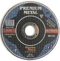 Круг (диск) отрезной по металлу 125 мм (125х2,5х22,2) INOX Premium