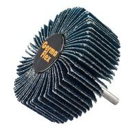 Круг лепестковый со шпинделем 80/30/6 мм Р60 Spiner Z цирконий голубой