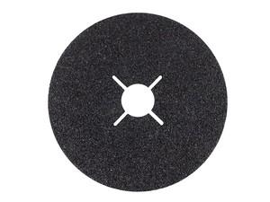 Круг фибровый 235х22,2 мм Р40 (толщина 0,8 мм) Fibrat С карбид кремния черный