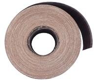 Бумага наждачная в рулоне для станка 100 мм / 50 м Р180 PA Grante электрокорунд бордовый