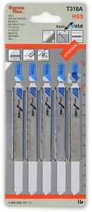 Пилки для лобзика по металлу T318 A (5 шт.)
