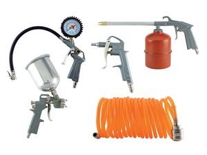 Набор пневмоинструмента из 5 предметов «PLEXPART»