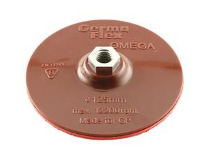Тарелка опорная (125 мм; М14) для круга на липучке Omega + шпиндель