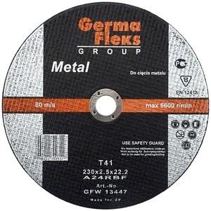 Круг отрезной по металлу 115х2,5х22,2 «GermaFleks Group»
