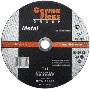 Круг (диск) отрезной по металлу 230 мм (230х3,0х22,2) «GermaFleks Group»