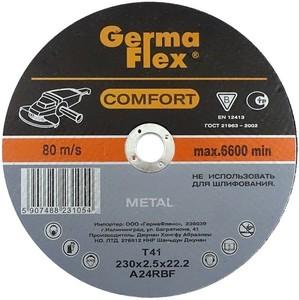 Диск отрезной по металлу 125х2,5х22,2 METAL Comfort