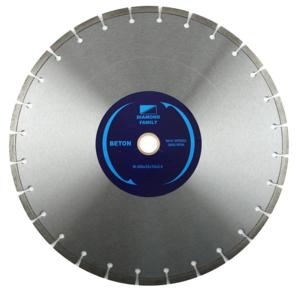 Диск алмазный сегмент 450х25,4 мм Family (лазерная пайка)