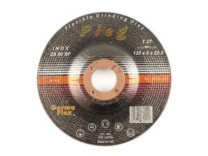 Круг эластичный шлифовальный пупырчатый 125х22,2 мм P24 Pieg ZA