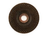 Круг эластичный шлифовальный пупырчатый 180х22,2 мм P80 Pieg ZA