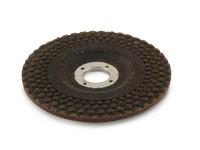 Круг эластичный шлифовальный пупырчатый 125х22,2 мм P80 Pieg ZA