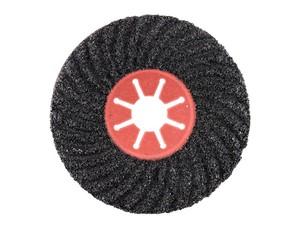 Круг фибровый волнистый 180х22 мм Р100 Semtul карбид кремния черный «PLEXPART»