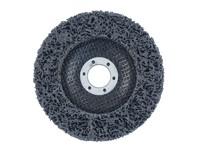 Круг нейлоновый шлифовальный 125х22 мм чёрный (плоский)
