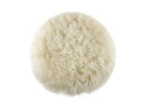 Круг шлифовальный из овчины на липучке 125 мм