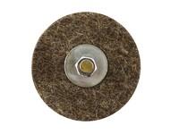 Круг войлочный 90х20 мм серый грубошерстный