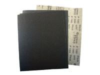 Лист шлифовальный 230х280 мм на бумажной основе Р120 карбид кремния черный WPF Black