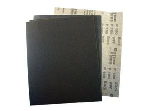 Лист шлифовальный 230х280 мм на бумажной основе Р60 карбид кремния черный WPF Black