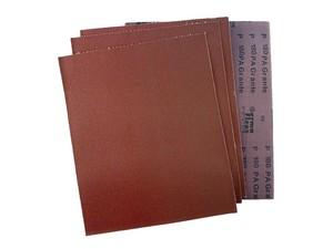 Лист шлифовальный 230х280 мм на тканевой основе P36 электрокорунд бордовый PA Grante