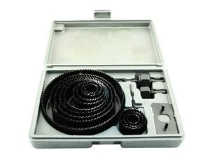 Набор кольцевых пил (черные) 67, 76, 89, 102 и 127 мм