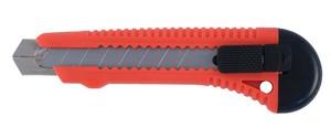 Нож строительный пластиковый корпус, лезвие 18 мм