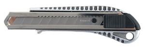 Нож строительный металлический корпус, лезвие 18 мм