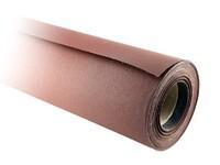 Бумага наждачная в рулоне 700 мм / 25 м Р100 на тканевой основе J Flex электрокорунд бордовый